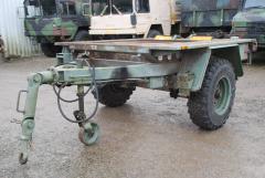 Lkw Anhänger 1,5t Bundeswehr