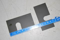 Abstandsplatte aus ca. 1mm Stahlblech