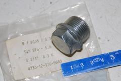 Stopfen, Leitungsrohr, DIN 910-5.8
