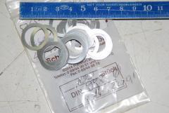 Scheibe M16 x 22 x 0,1 mm, VPE 100 Stück