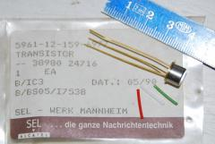 Transistor, SEL, 2N1039