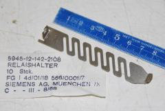 "Relaishalter ""Siemens"", VPE 10 Stück"