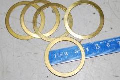 Abstandsring, Messing, VPE 5 Stück