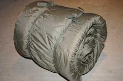Original Bundeswehr Schlafsack in Mumienform
