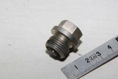 Verschlußschraube, M18 x 1,5, mit Magnet
