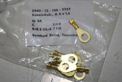 Kabelschuh, Anschlußstück, A6x1,5, VPE 10 Stück