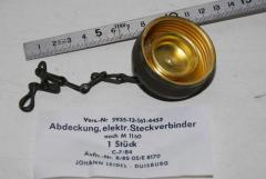 Abdeckung Steckverbinder, mit Kette