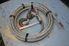 Drahtseil für Seilzug, Durchmesser 16 mm