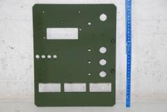Frontplatte für Schaltkasten