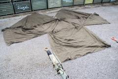 Zelt Teil, Zeltabschnitt, frühe Bundeswehr