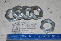 Sechskantmutter, M20 x 1,5, VPE 5 Stück