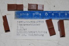 Steckverbinder Gehäuse, VPE 5 Stück