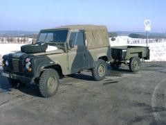 1-Achs Anhänger 0,75t für Land Rover u.a.