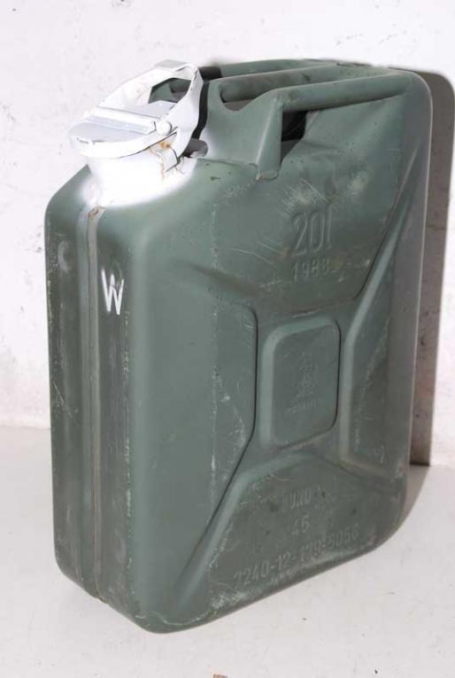 Großartig Militärbestände Schult   Bundeswehr 20l Kanister für Trinkwasser  LH88